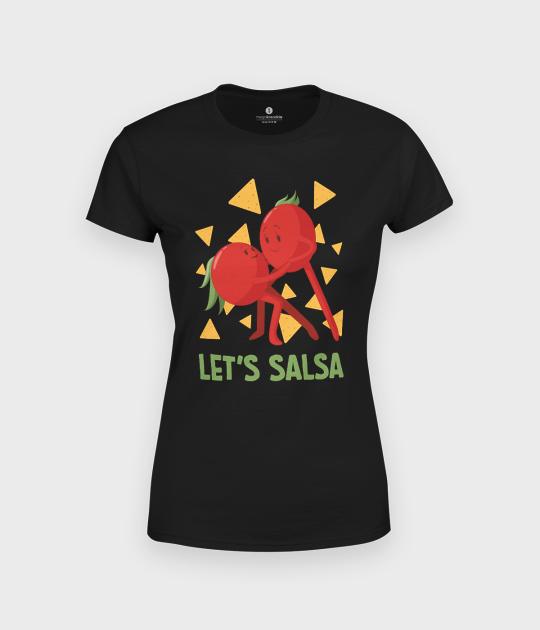 Koszulka damska Lets salsa