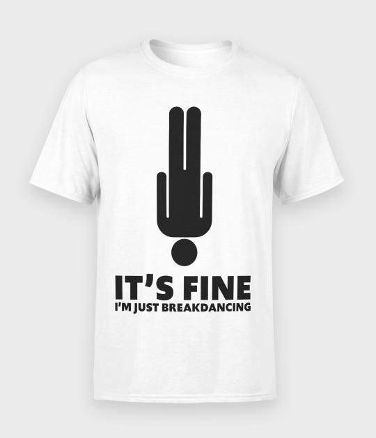 Koszulka męska Just breakdancing 2