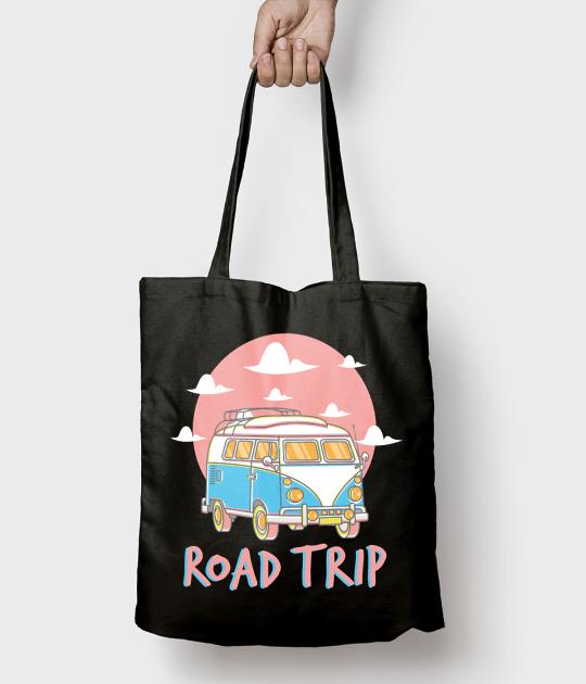 Torba bawełniana Road trip