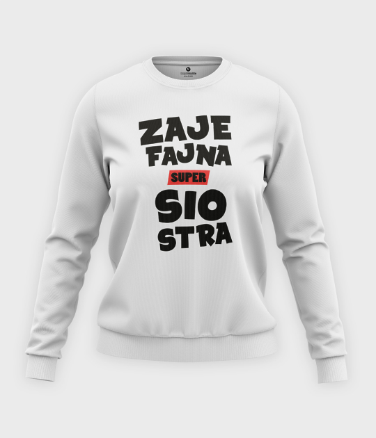 Bluza klasyczna damska Zajefajna siostra