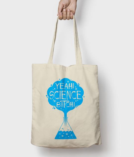 Torba bawełniana Science Bitch 4