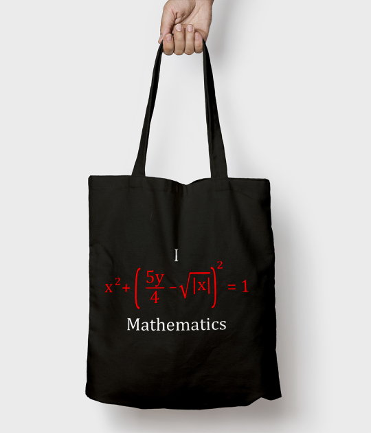 Torba bawełniana Matematyka