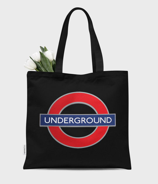 Torba bawełniana premium London 2