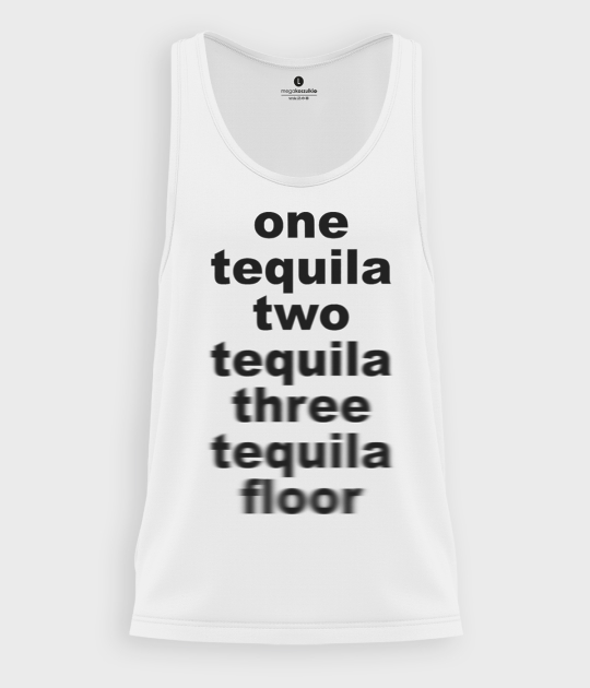 Tank top męski One tequila