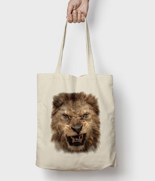 Torba bawełniana Lion roar