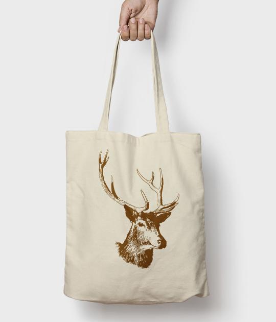 Torba bawełniana Deer