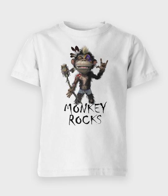 Koszulka dziecięca Monkey Rocks