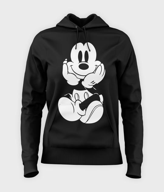 Bluza damska z kapturem Myszka Mickey