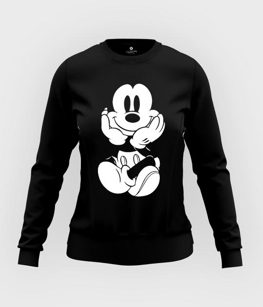 Bluza damska taliowana Myszka Mickey