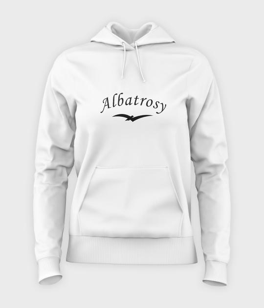 Bluza damska z kapturem Albatrosy