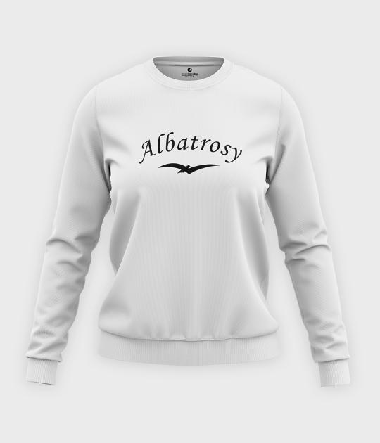 Bluza klasyczna damska Albatrosy