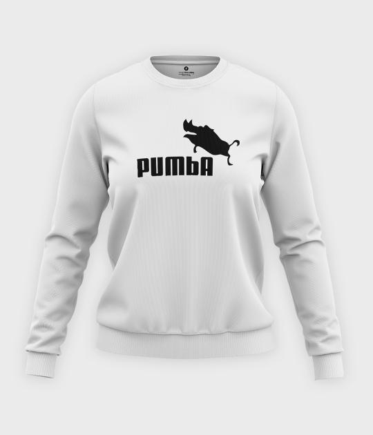 Bluza klasyczna damska Pumba