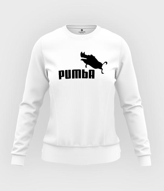 Bluza damska taliowana Pumba