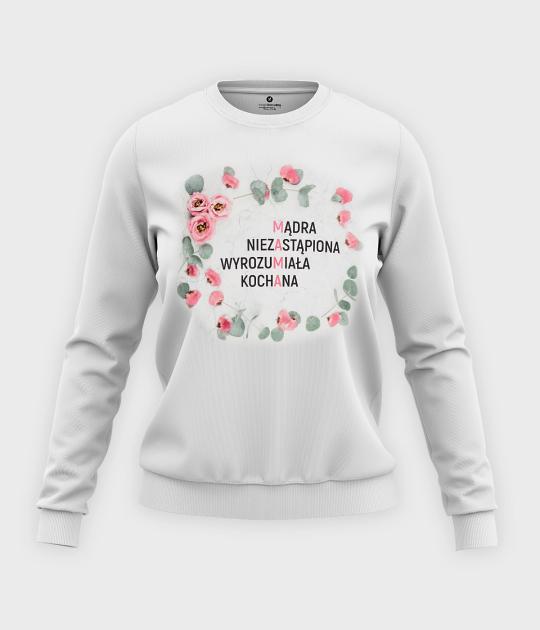 Bluza klasyczna damska Niezastąpiona mama