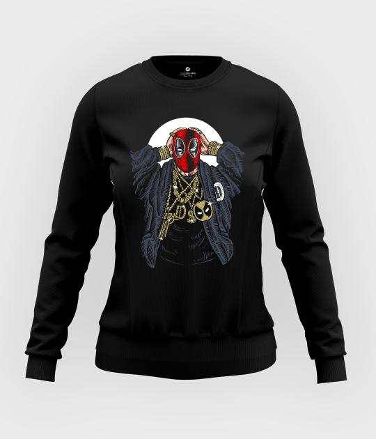 Bluza damska taliowana Rapper Deadpool
