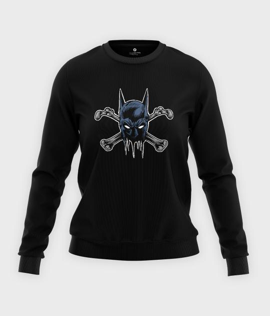 Bluza klasyczna damska Batbones