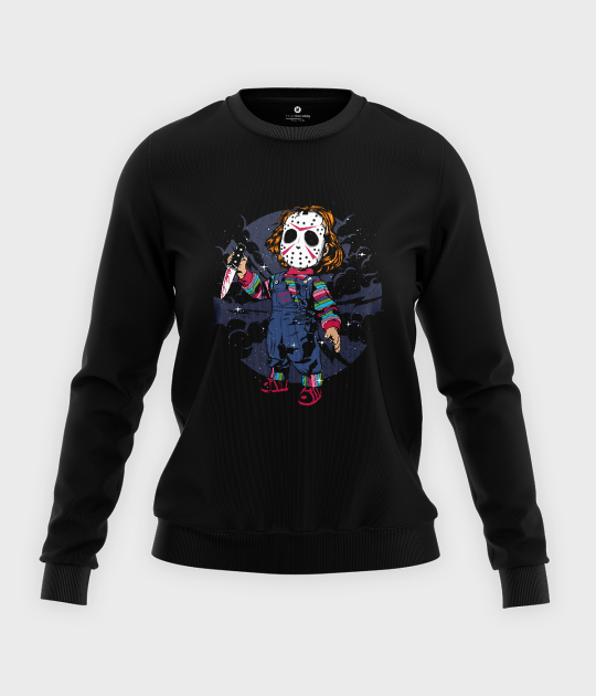 Bluza klasyczna damska Chucky
