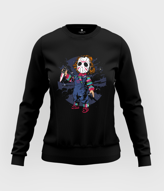 Bluza damska taliowana Chucky