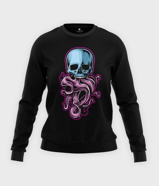 Bluza klasyczna damska Tentacle Skull