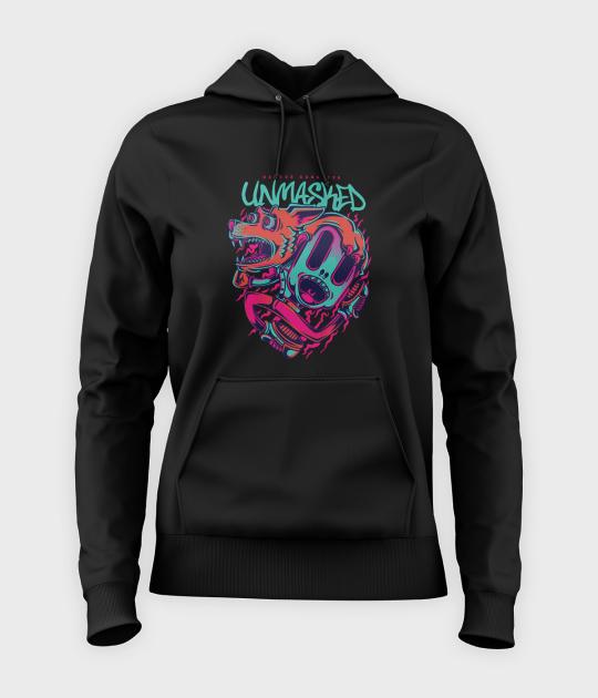 Bluza damska z kapturem Unmasked