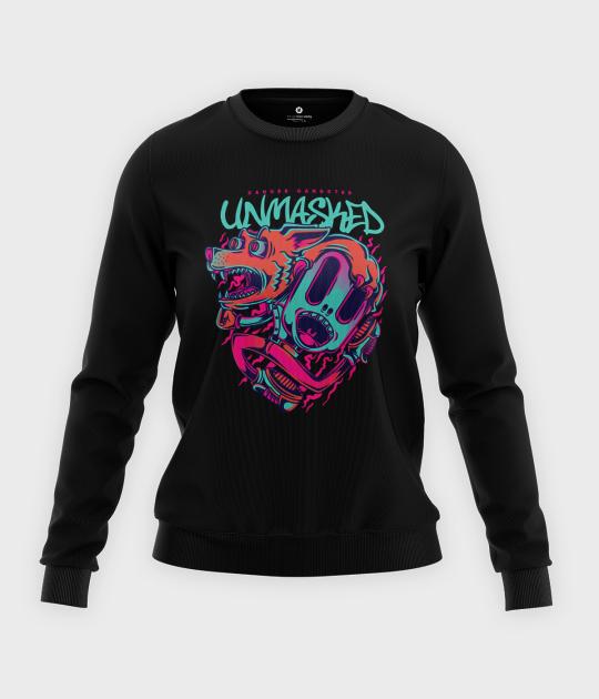 Bluza klasyczna damska Unmasked
