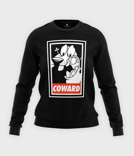 Bluza klasyczna damska Tchórzliwy Pies