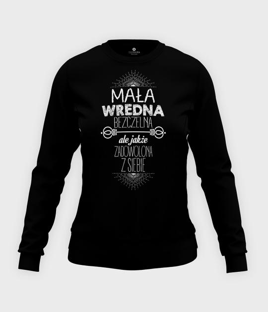 Bluza damska taliowana Wredna