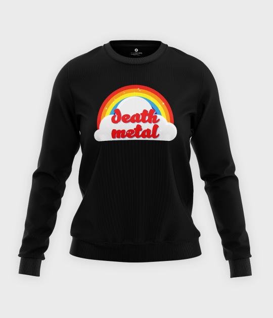 Bluza klasyczna damska Death Metal