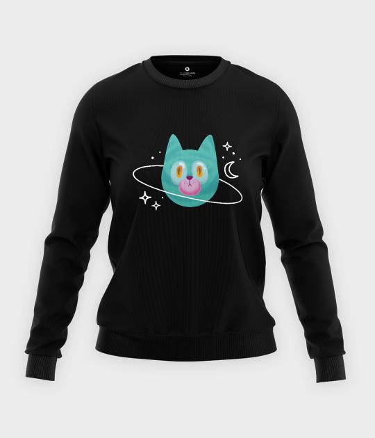 Bluza klasyczna damska Planeta Kot
