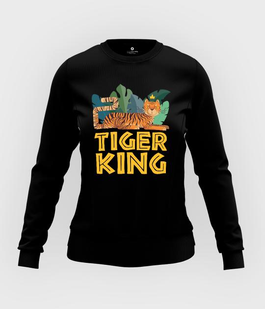 Bluza damska taliowana Tiger King