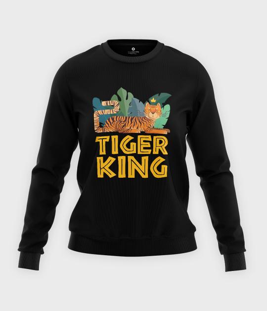 Bluza klasyczna damska Tiger King