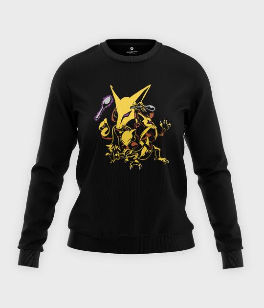 Bluza klasyczna damska Pocket monster 2