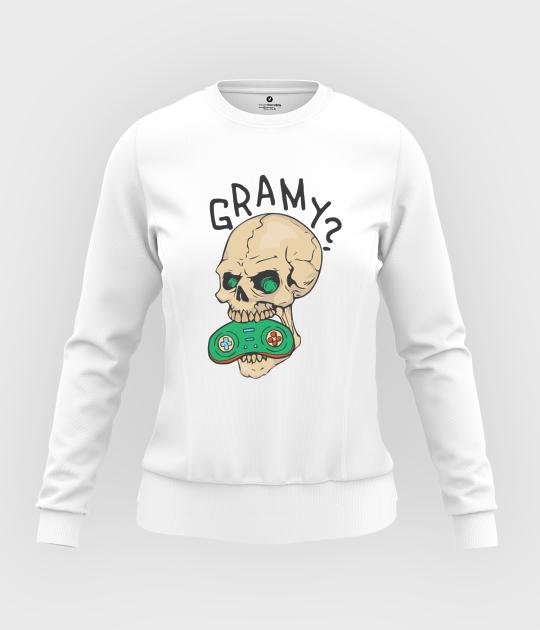 Bluza damska taliowana Gramy?