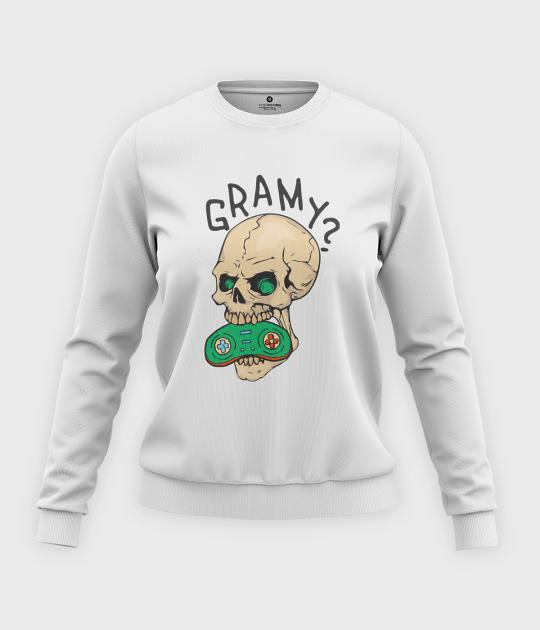 Bluza klasyczna damska Gramy?