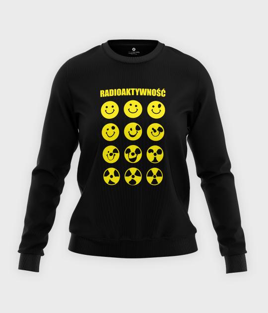 Bluza klasyczna damska Radioaktywność