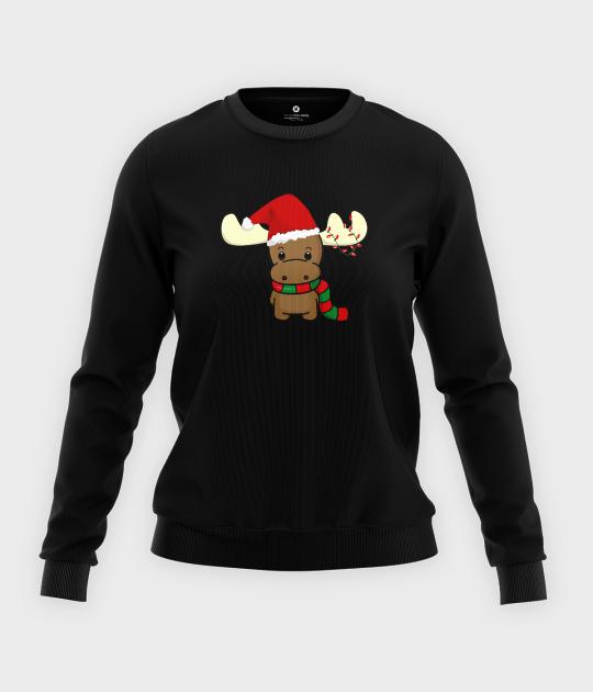 Bluza klasyczna damska Reindeer