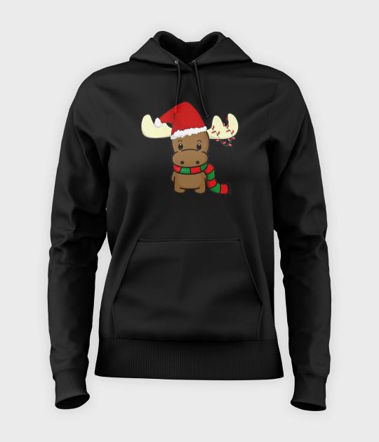 Bluza damska z kapturem Reindeer