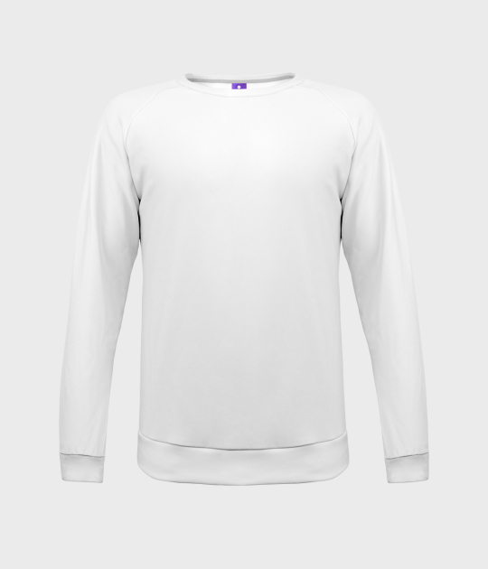 Bluza damska fullprint (gładka, bez nadruku)