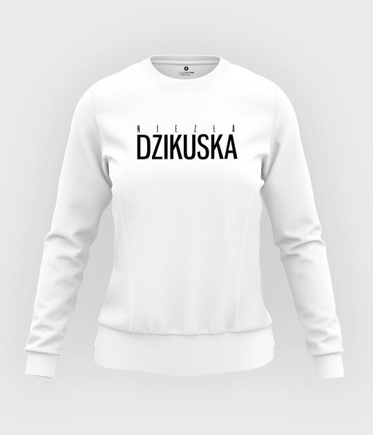 Bluza damska taliowana Dzikuska