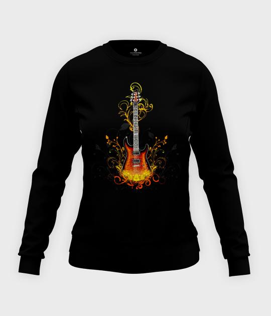 Bluza damska taliowana Guitar