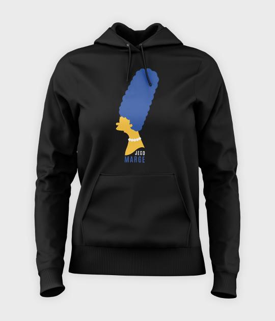 Bluza damska z kapturem Jego Marge