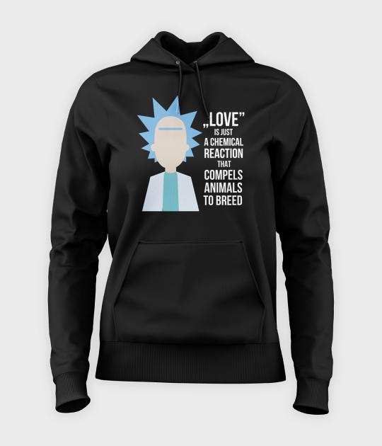 Bluza damska z kapturem Rick Love