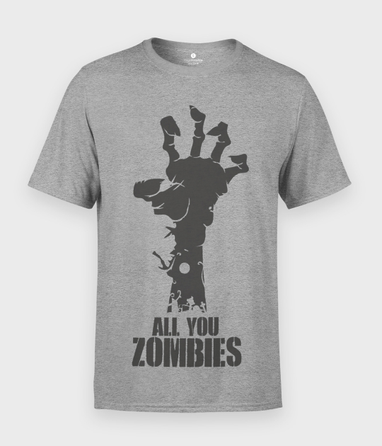 Koszulka męska All you zombies