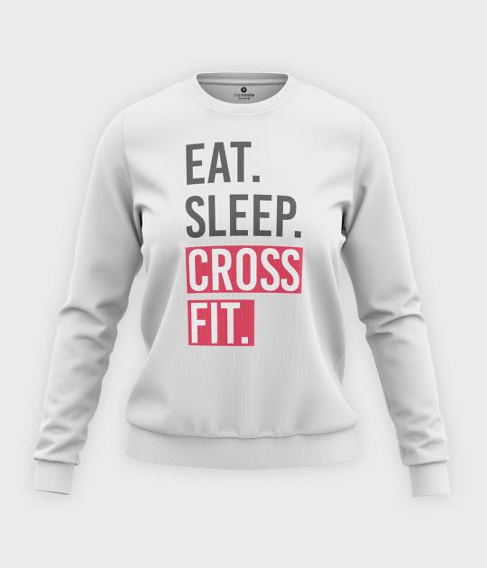 Bluza klasyczna damska Cross Fit