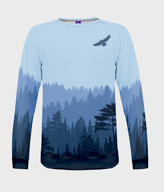 Bluza damska fullprint Wolny ptak