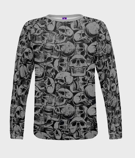 Bluza damska fullprint Skulls