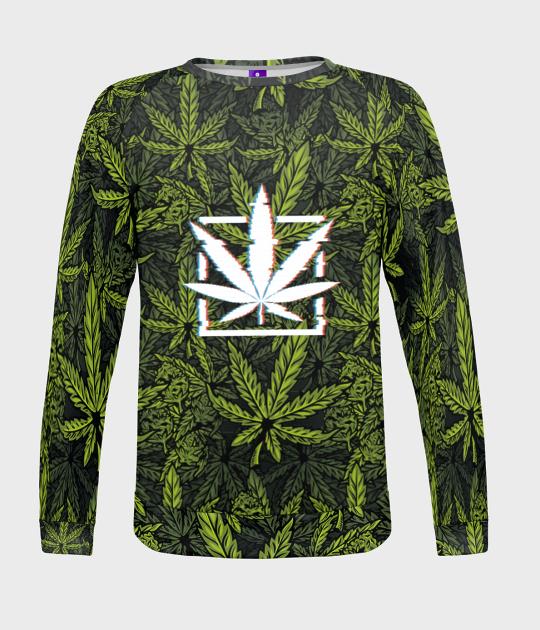 Bluza damska fullprint Marijuana