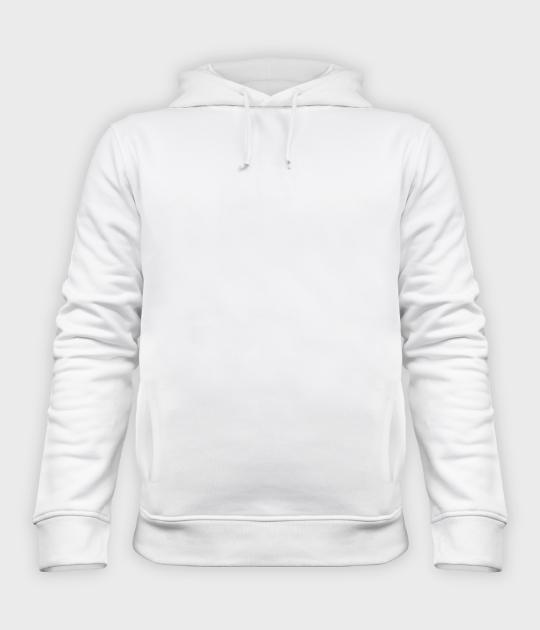 Bluza damska organic z haftem - biała (gładka, bez nadruku)