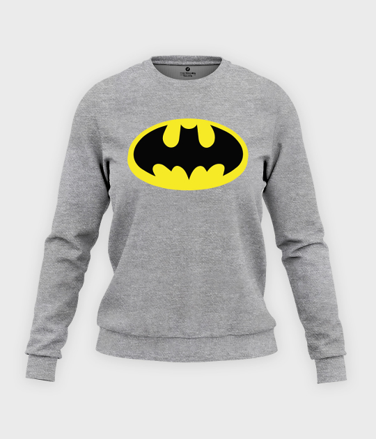 Bluza klasyczna damska Batman Scratched