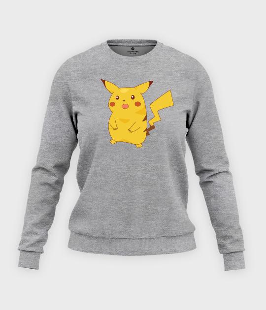 Bluza klasyczna damska Shocked Pikachu